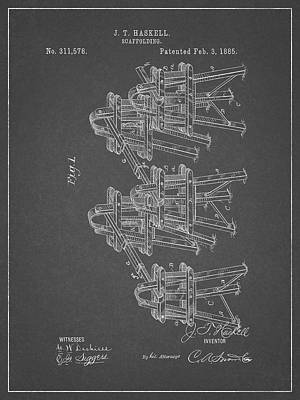 Glass Art - Scaffolding Patent by Dan Sproul