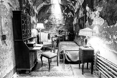 Photograph - Scarface Slept Here At Eastern State Penitentiary by John Rizzuto