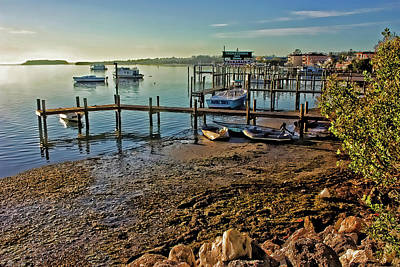Photograph - Scenic Bradenton Beach Waterfront by HH Photography of Florida