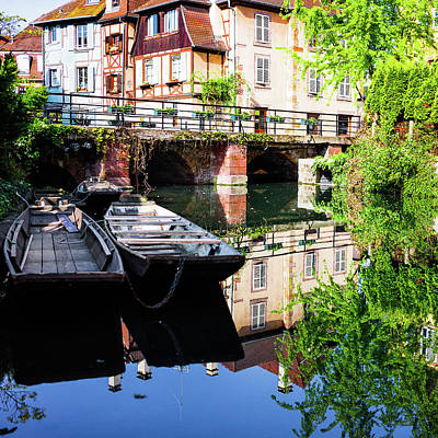 Colmar France Wall Art - Photograph - Scenic Colmar by Gomaba