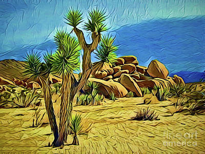 Painting - Scenic Rock A18-25 by Ray Shrewsberry