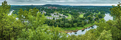 Royalty-Free and Rights-Managed Images - Scenic Route 165 Overlook Panorama - Table Rock Lake by Gregory Ballos