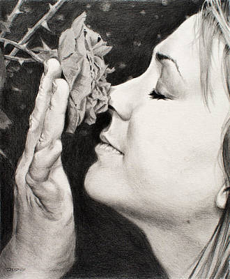 Drawing - Scent by Christopher Reid