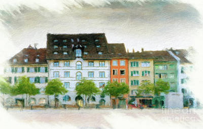 Travel - Schaffhausen Cityscape 4 by DiFigiano Photography
