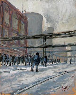 Painting - Schicht Maurits Mine by Nop Briex