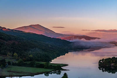 Schiehallion  From Queen's View Art Print by David Ross