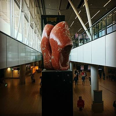 Photograph - Schipol Airport by Samuel Pye