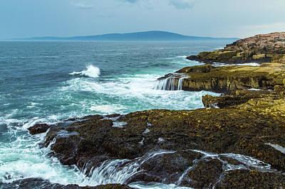 Photograph - Schoodic Point Vista by Stefan Mazzola