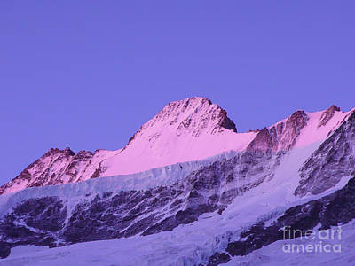 Royalty-Free and Rights-Managed Images - Schreckhorn North Face by DiFigiano Photography