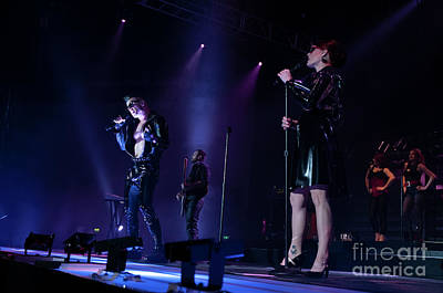 Photograph - Scissor Sisters Photo 13 by Phill Potter