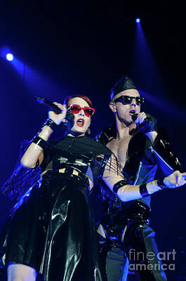 Photograph - Scissor Sisters Photo 8  by Phill Potter