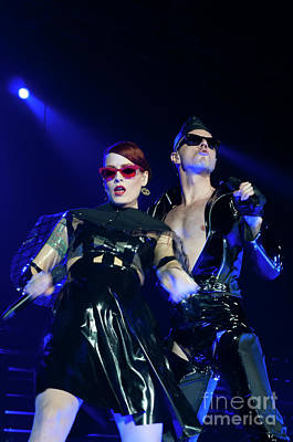 Photograph - Scissor Sisters Photo 9  by Phill Potter