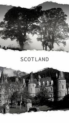 Photograph - Scotland Poster 1 by Jenny Rainbow
