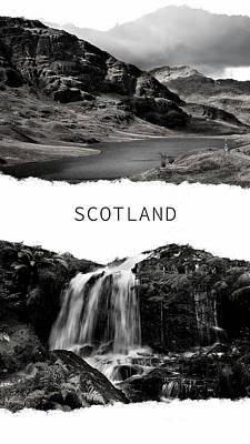 Photograph - Scotland Poster 2 by Jenny Rainbow