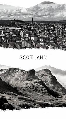 Photograph - Scotland Poster by Jenny Rainbow