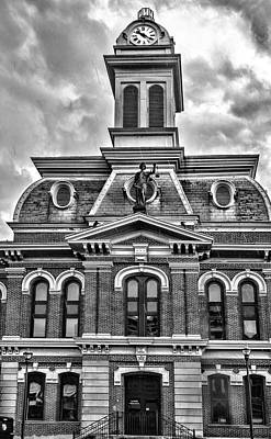 Photograph - Scott County Courthouse by Sharon Popek