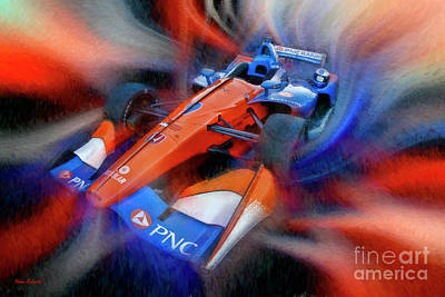 Photograph - Scott Dixon's 2018 Pnc Bank Honda by Blake Richards