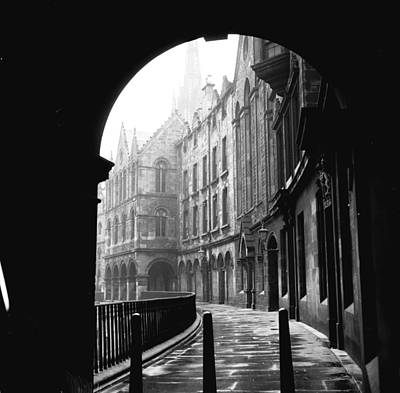 Photograph - Scottish Backstreet by Three Lions