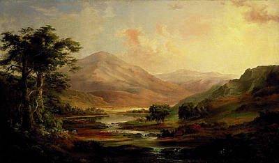 Painting - Scottish Landscape by Robert Duncanson