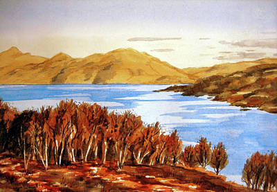 Painting - Scottish Loch by Valerie Anne Kelly