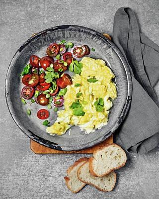 Photograph - Scrambled Eggs by Claudia Totir