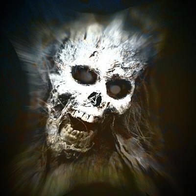 Digital Art - Screams In The Night by Michael Damiani