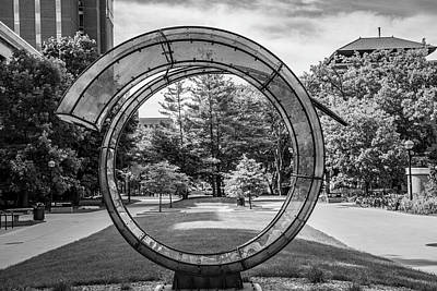 Photograph - Sculture At University Of Michigan by John McGraw