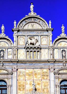 Photograph - Scuola Grande Di San Marco Venice by John Rizzuto
