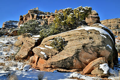 Abstract Airplane Art - SE Rim Rock Drive of CO National Monument by Ray Mathis