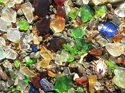 Photograph - Sea Glass by Shane Kelly