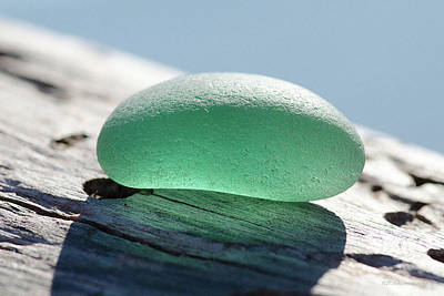 Photograph - Sea Glass Thirty by WB Johnston