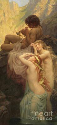 Painting - Sea Melodies by Herbert James Draper