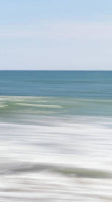 Photograph - Sea Moves Three by Mache Del Campo