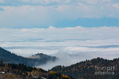 Photograph - Sea Of Fog On The Sangre De Cristo by Steve Krull