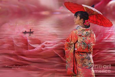 Sea Of Roses Art Print