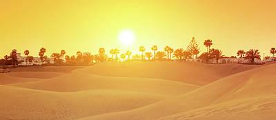 Digital Art - Sea of Sand by Tanel Murd