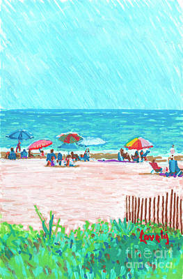 Painting - Sea Pines Beach Club by Candace Lovely