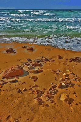 Sea. Sand. Waves. Wind. Stone. Original