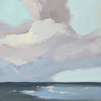 Painting - Sea Sky by Nancy Merkle