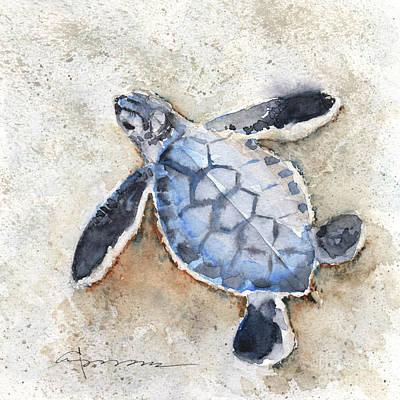 Painting - Sea Turtle No. 29 by Claudia Hafner