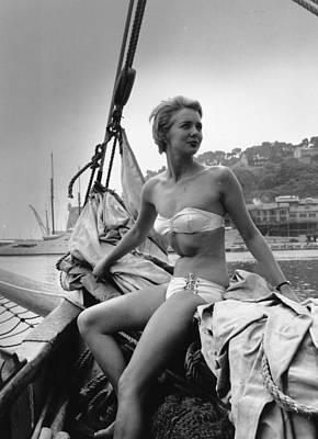 Photograph - Seafaring Beauty by Bert Hardy