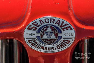 Photograph -  Seagrave by Tony Baca