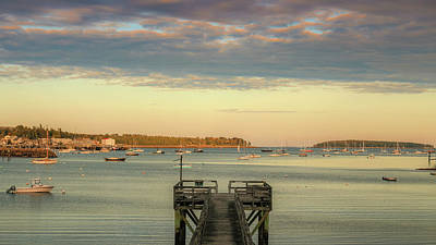 Photograph - Seal Harbor At Low Tide by Dan Sproul