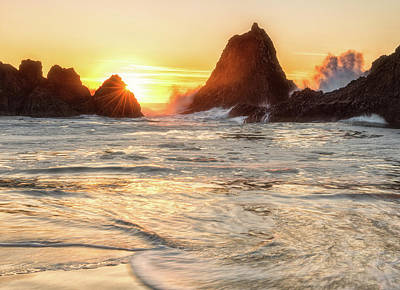 Photograph - Seal Rock  by Russell Pugh