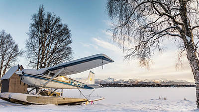 Photograph - Seaplane On A Break by Framing Places