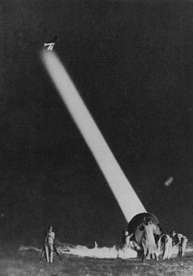 Photograph - Searchlight by Hulton Archive
