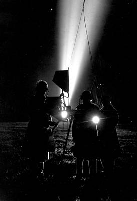 Photograph - Searchlights by Humphrey Spender