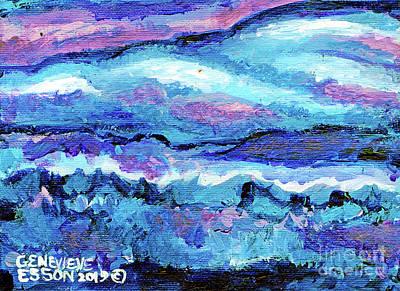 Seascape Abstract Original