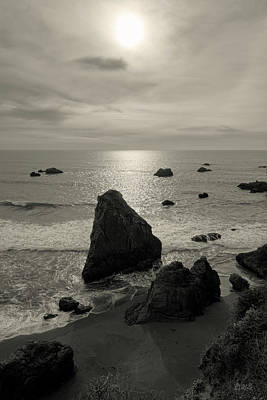 Photograph - Seascape Jenner California I Toned by David Gordon