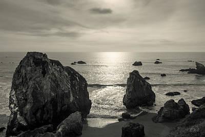 Photograph - Seascape Jenner California IIi Toned by David Gordon